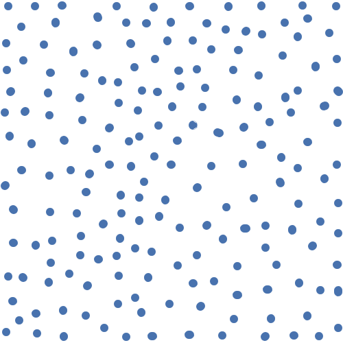 Pattern Blue Dots
